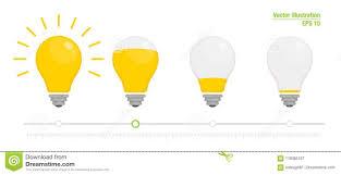 Light Bulb Levels Light Power Indicator Power Switch Energy Charge Level