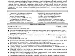 Free Construction Resume Templates With Construction Project Manager