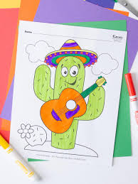 It is celebrated primarily in puebla, where the battle took place. Free Cinco De Mayo Coloring Pages Fun365