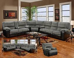 Furniture Modern Living Room Design Ideas With Grey Sectional Couch