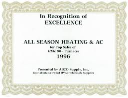 About All Season Heating Cooling