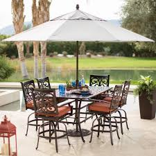 um size of patio tablecloth for umbrella table hole cover plug rattan effect garden furniture round
