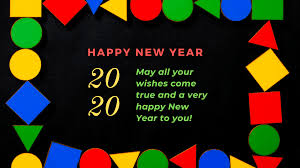 2020 Clipart 2020 New Year Kolam