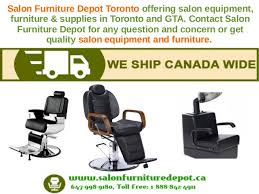 Wholesale Salon Equipment and Furniture We Ship Canada Wide