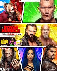 WWE Royal Rumble 2021 Poster by WWESlashrocker54 on DeviantArt
