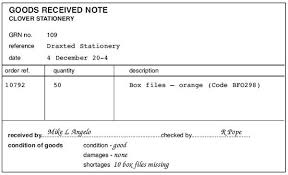 Goods Received Note Format Extraordinary Goods Received Note Format Colbroco
