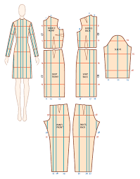 Pants Drawing Reference Quick Reference For Cut And Spread Pattern Grading Threads