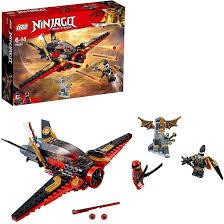 Amazon.com: LEGO Ninjago Destiny's Wing Toy Jet Plane, Kai & Jet ...