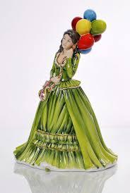 <b>Статуэтка</b> English ladies Продавец воздушных шаров 22 см
