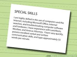 How To Write Curriculum Vitae Adorable How To Write A CV Or Curriculum Vitae With Free Sample CV