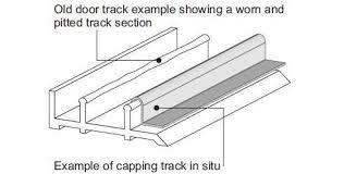 variation of patio door capping track 8211 ssteel