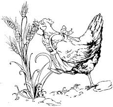 Small Picture The Little Red Hen Coloring Page Best Coloring Page 2017