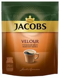 <b>Кофе растворимый Jacobs Velour</b> с пенкой, пакет — купить по ...