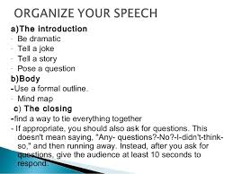 you want to deliver an effective speech  writing a good speech