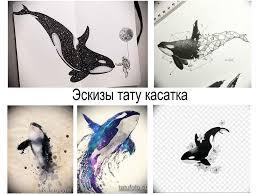 эскизы тату касатка коллекция рисунков для тату факты фото значение
