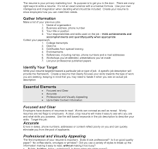 Appealing The Perfect Resume Horsh Beirut