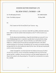 Memo Report Example Incident Report Letter Template Memo Format Example