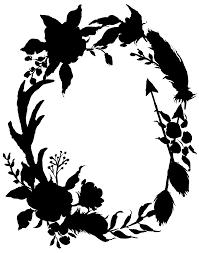 Silhouette Art Designs Clip Art Pattern Flowering Plant Silhouette Png Download