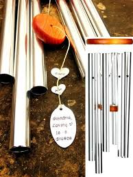 grandma gift wind chime gift from by weatheredraindrop on etsy