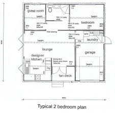 Two Bedroom Contemporary for Bedroom House Plans   Bedroom    House Plans Floor Plans Home Plans   Bedrooms House Plan for Bedroom House Plans