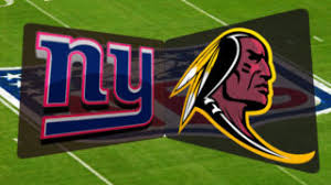 Image result for giants vs redskins