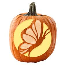Butterfly Pumpkin Carving Pattern