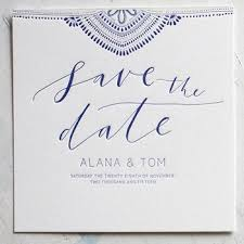 Save The Dates Martha Stewart Weddings