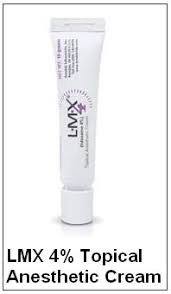 lmx 4 topical anesthetic cream for laser hair removal