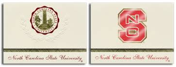 Presidential Z Fold Graduation Announcements Signature