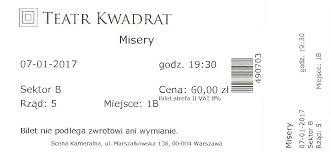 Misery - spektakl - Stephen King