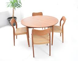 poul volther design round folding dining table
