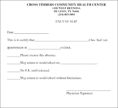 Fake Medical Excuse Forms Doctors Note Template For Surgery Oral