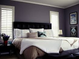 Brilliant Dark Purple Bedroom Colors Wall Color Curtains Bedspread Ideas On Simple Design