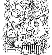 Music Coloring Stunning Free Printable Music Coloring Pages Music