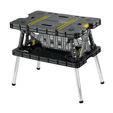 keter 21 65 in x 33 46 in x 29 7 in folding work table 197283 the home depot