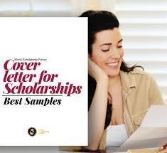 Cover Letter For Scholarship In 2020 Best Samples
