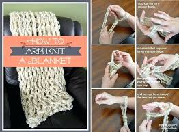 Arm Knit Blanket Pattern Best Diy Arm Knit Blanket Thesecondnatureco