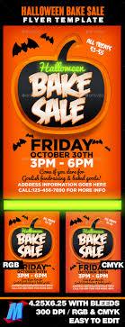 halloween bake flyer template by megakidgfx graphicriver halloween bake flyer template events flyers