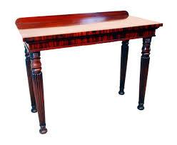 mahogany hall table. Antique Regency Mahogany Console Hall Table