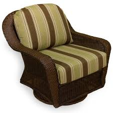 tortuga outdoor sea pines wicker swivel glider java wicker