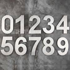 image is loading stand out house number floating door numbers 6