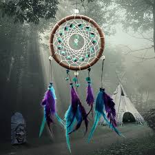 Big Dream Catcher For Sale Natural Turquoise Dreamcatcher My Feng Shui Store 53