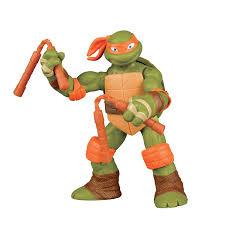ninja turtles michelangelo. Simple Ninja Amazoncom Teenage Mutant Ninja Turtles New Deco Michelangelo Figure Toys  U0026 Games Throughout Amazoncom