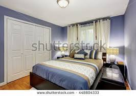 cozy blue black bedroom bedroom. Cozy Blue Black Bedroom Bedroom. And Interior With Built In Wardrobe Hardwood O