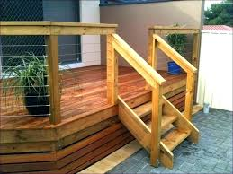 install deck rails wood installation railing balusters installing80