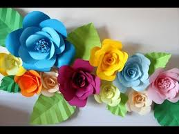 Hanging Paper Flower Backdrop How To Hang Paper Flowers For Your Room Youtube