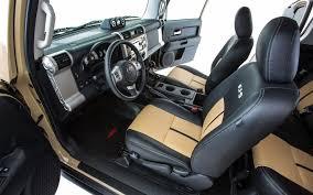 leather seats toyota fj cruiser fj