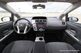 2012 Toyota Prius v, Interior, dashboard, Photography courtesy of ...