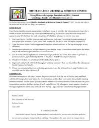 Creating An Mla Works Cited Page Pdf Rivier University