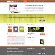 Website Design Templates Template 24 Web Design 5